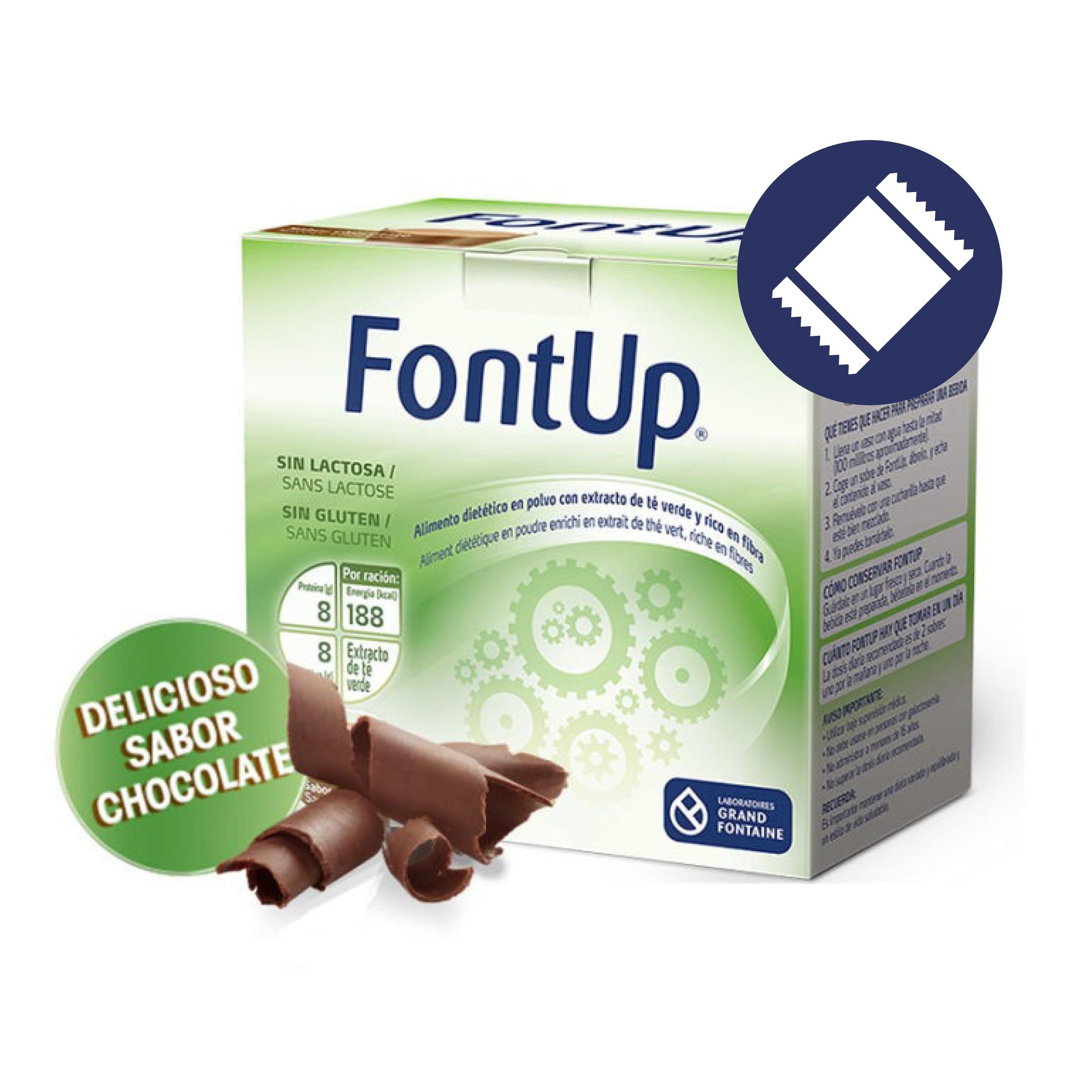 FontUp Chocolate<br>1 UNIDAD