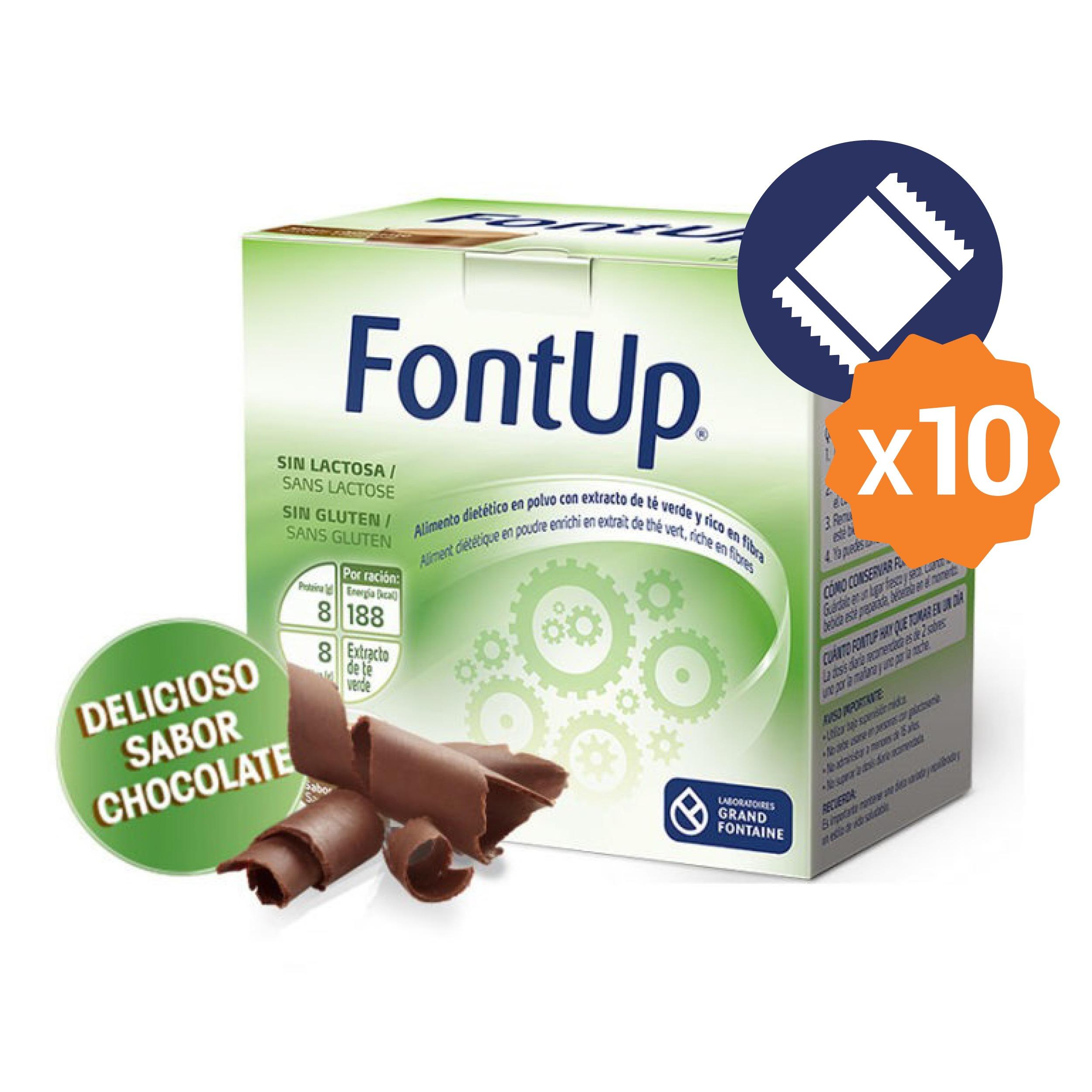 FontUp Chocolate<br>10 UNIDADES